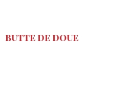 Cheeses of the world - Butte de Doue