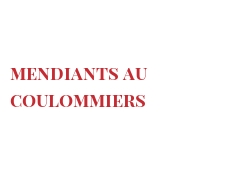 Recipe Mendiants au Coulommiers