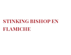 Recette Stinking Bishop en flamiche