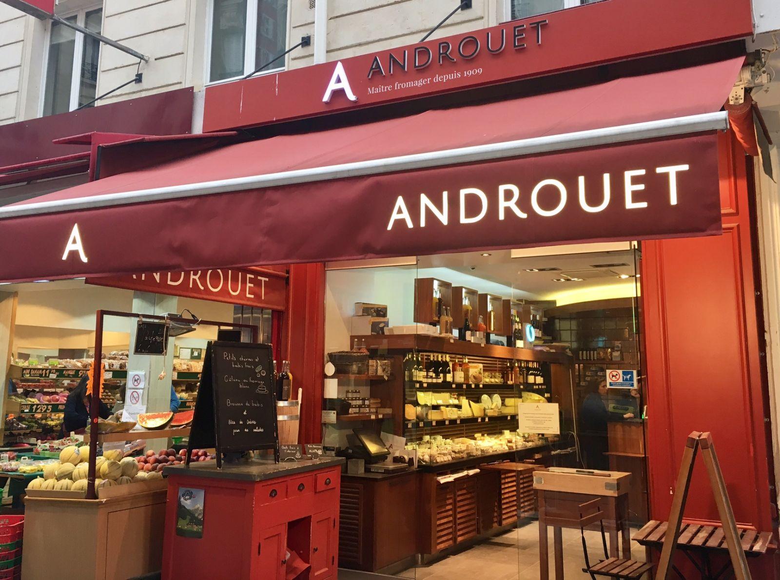Androuet Restaurant Paris