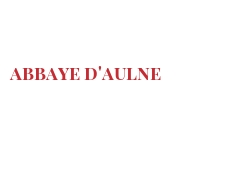 Cheeses of the world - Abbaye d'Aulne